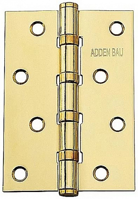 фотоПетля универсальная ADDEN BAU 100X70X2.5 4BB Polish Gold